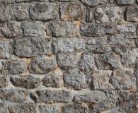 παλαιός τοίχος πετρών του Κεμπέκ κάστρων Στοκ Εικόνα