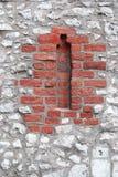 παλαιός τοίχος πετρών τούβ Στοκ Φωτογραφία