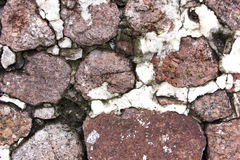 Παλαιός τοίχος πετρών Στοκ Εικόνες