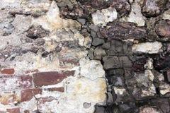 Παλαιός τοίχος πετρών Στοκ εικόνες με δικαίωμα ελεύθερης χρήσης