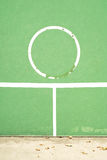 Παλαιός τοίχος πρακτικής αντισφαίρισης Στοκ Φωτογραφίες