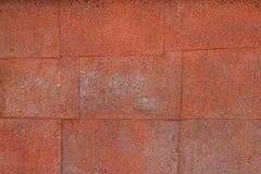 παλαιός τοίχος σιδήρου Στοκ Φωτογραφία