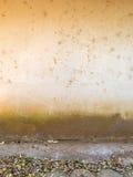 Παλαιός τοίχος σπιτιών ρύπου Στοκ Εικόνες
