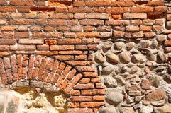 Παλαιός τοίχος στη Βερόνα Στοκ εικόνα με δικαίωμα ελεύθερης χρήσης