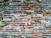 παλαιός τοίχος σύστασης τούβλου Στοκ φωτογραφία με δικαίωμα ελεύθερης χρήσης