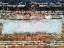 παλαιός τοίχος σύστασης τούβλου Στοκ Εικόνα