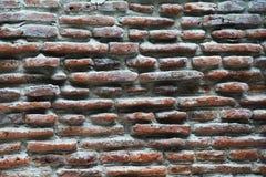παλαιός τοίχος σύστασης τούβλου Στοκ εικόνες με δικαίωμα ελεύθερης χρήσης