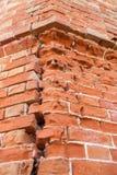 παλαιός τοίχος τεμαχίων τ&o Στοκ Φωτογραφία