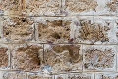 παλαιός τοίχος τεμαχίων Στοκ Εικόνα