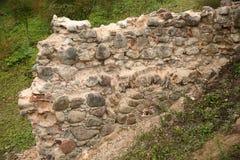 παλαιός τοίχος τεμαχίων Στοκ Εικόνες