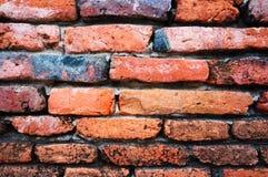 παλαιός τοίχος τούβλου ανασκόπησης Στοκ Εικόνες