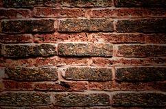 παλαιός τοίχος τούβλου ανασκόπησης Στοκ Φωτογραφίες