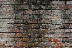 παλαιός τοίχος τούβλου Στοκ Εικόνα