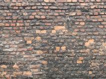 παλαιός τοίχος τούβλου Στοκ εικόνες με δικαίωμα ελεύθερης χρήσης