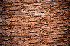παλαιός τοίχος τούβλου gr Στοκ Φωτογραφία