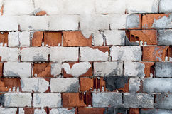Παλαιός τοίχος τούβλων Στοκ φωτογραφία με δικαίωμα ελεύθερης χρήσης