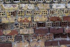 παλαιός τοίχος τούβλων Στοκ φωτογραφίες με δικαίωμα ελεύθερης χρήσης