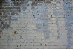 Παλαιός τοίχος των τούβλων Στοκ Φωτογραφία
