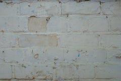 Παλαιός τοίχος των τούβλων Στοκ Φωτογραφίες