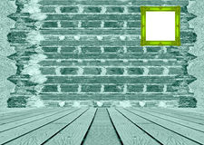 Παλαιός τουβλότοιχος με τα σχέδια υποβάθρου σύστασης τοίχων τσιμέντου Στοκ φωτογραφία με δικαίωμα ελεύθερης χρήσης
