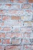 Παλαιός τουβλότοιχος σε μια εικόνα υποβάθρου Στοκ φωτογραφίες με δικαίωμα ελεύθερης χρήσης