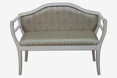 παλαιός τρύγος ύφους καναπέδων καναπέδων ξύλινος Στοκ φωτογραφίες με δικαίωμα ελεύθερης χρήσης