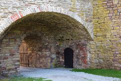 Παλαιός υπόγειος θάλαμος Στοκ φωτογραφία με δικαίωμα ελεύθερης χρήσης