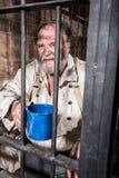 0 παλαιός δυτικός φυλακισμένος Στοκ Εικόνα