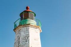 Παλαιός φάρος άνεσης σημείου, δεύτερος παλαιότερος στο κόλπο Chesapeake Στοκ εικόνα με δικαίωμα ελεύθερης χρήσης