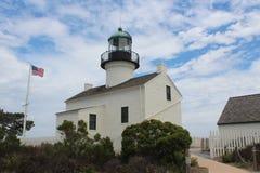Παλαιός φάρος του Point Loma στοκ εικόνες με δικαίωμα ελεύθερης χρήσης