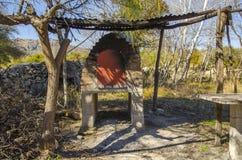 Παλαιός φούρνος τούβλου Στοκ Εικόνες