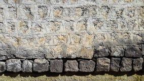 Παλαιός φράκτης πετρών στοκ φωτογραφία με δικαίωμα ελεύθερης χρήσης