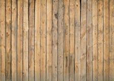 Παλαιός φράκτης grunge των ξύλινων επιτροπών Στοκ Εικόνα