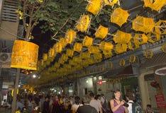 Παλαιός φραγμός Ανόι Βιετνάμ οδών τετάρτων Στοκ Εικόνα