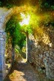 Παλαιός φραγμός, Μαυροβούνιο στοκ εικόνες με δικαίωμα ελεύθερης χρήσης