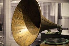παλαιός φωνογράφος Στοκ φωτογραφίες με δικαίωμα ελεύθερης χρήσης