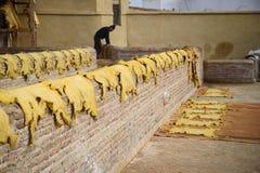 Παλαιός φλοιός στο Fez, Μαρόκο Στοκ εικόνες με δικαίωμα ελεύθερης χρήσης
