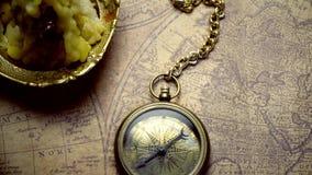 Παλαιός χάρτης και άλλη ουσία φιλμ μικρού μήκους