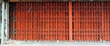 παλαιός χάλυβας πορτών Στοκ Εικόνα