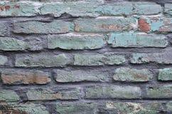 Παλαιός, χαλασμένος τοίχος Στοκ φωτογραφία με δικαίωμα ελεύθερης χρήσης