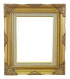 Παλαιός χρυσός πλαισίων και απομονωμένο τρύγος υπόβαθρο χαλκού Στοκ φωτογραφίες με δικαίωμα ελεύθερης χρήσης