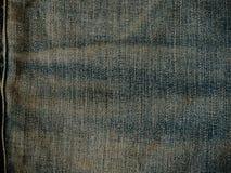 Παλαιός χλωμός - μπλε σύσταση Jean τζιν Στοκ Εικόνες
