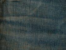 Παλαιός χλωμός - μπλε σύσταση Jean τζιν Στοκ φωτογραφία με δικαίωμα ελεύθερης χρήσης