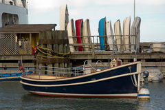 Παλαιός dingy Στοκ εικόνες με δικαίωμα ελεύθερης χρήσης