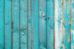 Παλαιός shabby ξύλινος φράκτης Στοκ Φωτογραφία