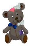 Παλαιός teddy αντέχει με τα μπαλώματα ελεύθερη απεικόνιση δικαιώματος