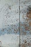 Παλαιός woodent ραγισμένος τοίχος με το shabby χρώμα στοκ φωτογραφίες με δικαίωμα ελεύθερης χρήσης
