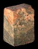 Παλαιότερος βράχος στη γη - Gneiss ποταμών Acasta, 4030 εκατομμύριο έτη Στοκ Εικόνες