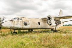 Παλαιότερο πέταγμα αεροσκαφών Στοκ Εικόνες