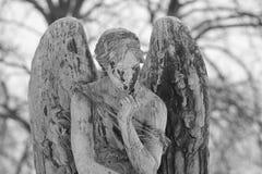 Παλαιό άγαλμα γραπτό Στοκ Φωτογραφία